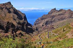 Carretera de Masca (Tenerife - ESPAÑA)