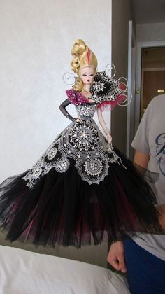 2014 NBDCC Magia2000 live auction doll.  INCREDIBLE.  A big thank you to them for allowing me to photograph it.