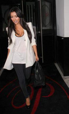 LnA Olivia Gathered Bottom Leggings - as seen on Kim Kardashian