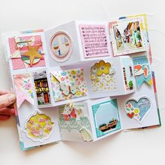 I created a new Mini Album Card cut file and have an example to share with you using my Turn the Page collection! Everything you s...