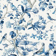 Porcelain Non-woven Wallcovering by Scalamandre Wallpaper