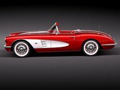 red 1959 1960 Chevrolet Corvette convertible movie - Pesquisa Google