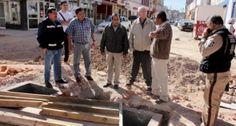 Verifican avance de obra en Avenida García Salinas