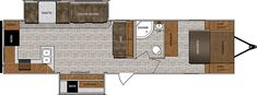 Wildcat 338RKS Fifth Wheels / Travel Trailers by Forest River RV
