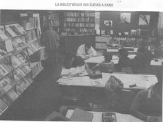 """La """"Bibliothèque des Éleves"""" à Paris"""