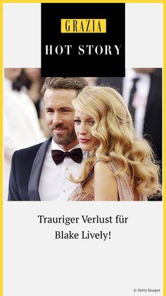 """Welchen traurigen Verlust die ehemalige """"Gossip Girl""""-Schauspielerin und Ehefrau von Ryan Reynolds, Blake Lively, nun verkraften muss, erfahrt ihr hier… #grazia #grazia_magazin #blakelively #hotstory #verlust #trauer"""