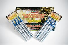 Bottle Service Sparklers and Champagne Sparklers - Buy Sparklers Online Champagne Sparklers, Bottle Sparklers, Gold Champagne Bottle, Wedding Sparklers, Wedding Website Examples, Small Fountains, Wedding Planning Timeline, Disco Party, Holiday Traditions