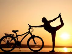 4 Yoga Poses to Prevent Cycling Injuries