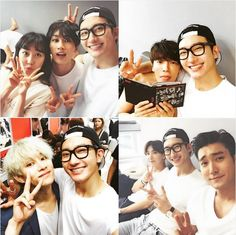 Zhoumi, Eunhyuk, Donghae, Leeteuk and Heechul ❤