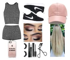 """Untitled #254"" by gracesmedley ❤ liked on Polyvore featuring Topshop, NIKE, Casetify, H&M, Dolce&Gabbana and Chanel"