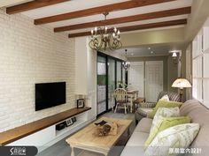 原晨室內設計 鄉村風設計圖片原晨_16之4-設計家 Searchome Oversized Mirror, Home Goods, House Design, Wall, Furniture, Home Decor, Decoration Home, Room Decor, Walls