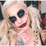 Halloween – make-up make-up and Co. # make-up # make-up Halloween – Make-up Makeup and Co. Maquillage Halloween Clown, Halloween Makeup Witch, Halloween Inspo, Scary Halloween Costumes, Halloween Makeup Looks, Couple Halloween, Diy Costumes, Halloween Halloween, Witch Makeup