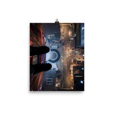 Poster of Calgary tower view - Calgary, Alberta - Travel photo- Toronto photographer - Photo Print - Home Decor - Wall Art- Art Poster Alberta Travel, Toronto Photographers, Poster Making, Home Decor Wall Art, Paper Weights, Calgary, Art Art, Travel Photos, Giclee Print
