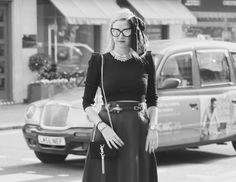 Well well...    #lovebyn #vintage #blackandwhite #fish #reptileshouse #buckle #belt #mayfair #ysl #bag #shoes #streetstyle #ootd #style #wiwt #lookbook #lookbooker #green #chanel #sunglasses  @stellaandjamie