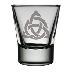 Celtic KnotDram Glass . . Sold by TartanPlusTweed.com A family owned kilt and gift shop in the Scottish Borders