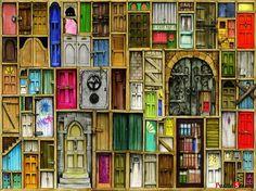 "Jigsaw Puzzles 1000 Pieces ""Locking Doors"" | eBay"