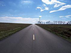 Rural road in Kentucky