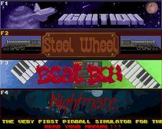 Amiga Games - Pinball Dreams - Classic Commodore Amiga Game