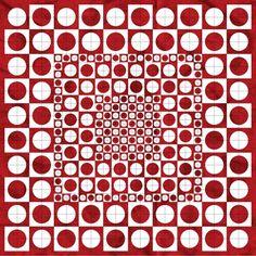 drunkard's path quilt layouts | Drunkard's Path - 3 sizes