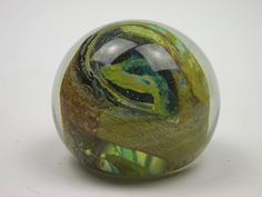 Isle of Wight Studio Glass swirly paperweight. £20.00, via Etsy.