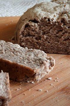 Receta para hacer pan vegano sin gluten con harina de trigo sarraceno.   #vegano #pan #sinTACC #singluten #trigosarraceno #alforfon #glutenfree #vegan #veggie