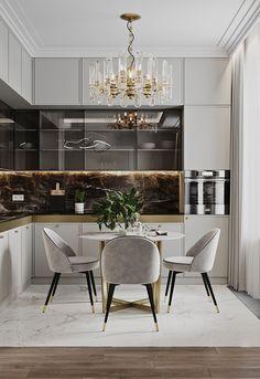 Kitchen Room Design, Home Room Design, Modern Kitchen Design, Home Decor Kitchen, Kitchen Interior, Home Interior Design, Homemade Home Decor, Cuisines Design, Interior Modern