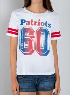 NFL New England Patriots Tee #JunkFoodNFL #junkfoodclothing