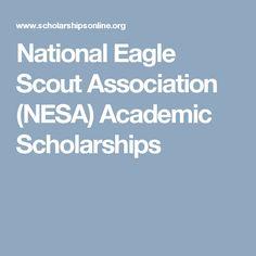 National Eagle Scout Association (NESA) Academic Scholarships