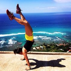 Handstand walks #crossfit #fitspo Fitness motivation inspiration fitspo crossfit running workout exercise lifting weights weightlifting