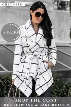 79962d228fa Free Shipping   Easy Return. Up to 30% Off. Prairie Grid Rabato Coat