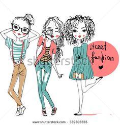 Ilustraciones Mujeres Fotos, imágenes y retratos en stock | Shutterstock