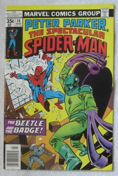The Spectacular Spider-Man #16 (Mar 1978, Marvel) VF/NM 9.0