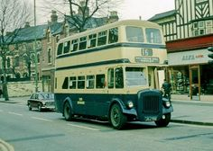 Birmingham CT 2799, JOJ799, a Daimler CVG6 with Crossley H30/25R body of 1952, on the route from Hamstead to Yardley, one of a very small nu...