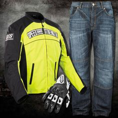 Can you see me now?  Speed & Strength Hi-Visibility Motorcycle Gear