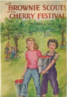 Brownie Scouts in the Cherry Festival | Mildred Wirt Benson Collection | Iowa Digital Library
