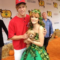 Bella Thorne And Tristan Klier Halloween Cute For The Camp Ronald McDonald 20th Annual Halloween Carnival