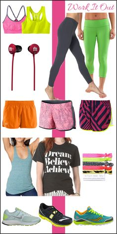 Fitness Fashion: Work It Out