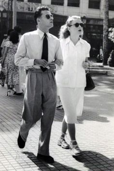 Vintage Photos « The Sartorialist. I wish his pants were hemmed right were it breaks the knee.