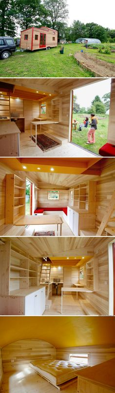 The Cahute XL: a bright and modern tiny house from Cahute