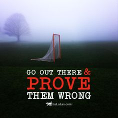 Go out there and prove them wrong! Your daily dose of inspiration from LuLaLax!