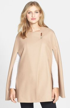 Ted Baker London 'Minimalist' Wool Blend Cape available at #Nordstrom