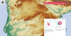Partial screen capture of the interactive map, Adaptation to Climate Change Interactive Map, Physical Science, Climate Change, Infographics, Maps, Environment, Infographic, Blue Prints, Science_nature