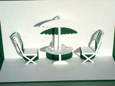 Patio table & chairs pattern to make this
