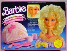 Barbie make up head