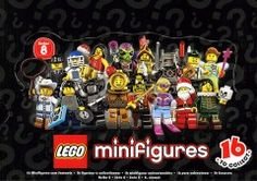 8833-18: LEGO Minifigures Series 8 - Sealed Box