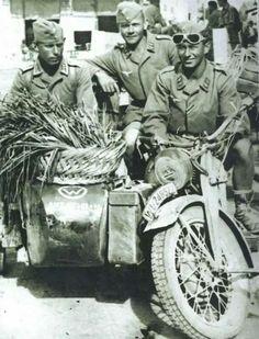 Fallshirmjager artillerie, Crete 1941 - pin by Paolo Marzioli