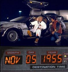 Back to the Future Time Machine: 1.21 gigawatts!! I wanted a time machine so bad when I saw this movie in the movie theater.