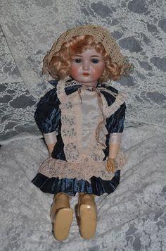 Antique Doll Simon & Halbig  Kammer & Reinhardt Bisque Doll 26' TALL