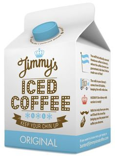 jimmy's iced coffee.