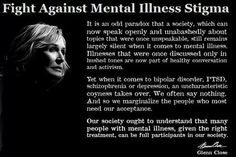 Fight Against Mental Illness Stigma